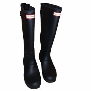 Hunter size 10 knee high boots